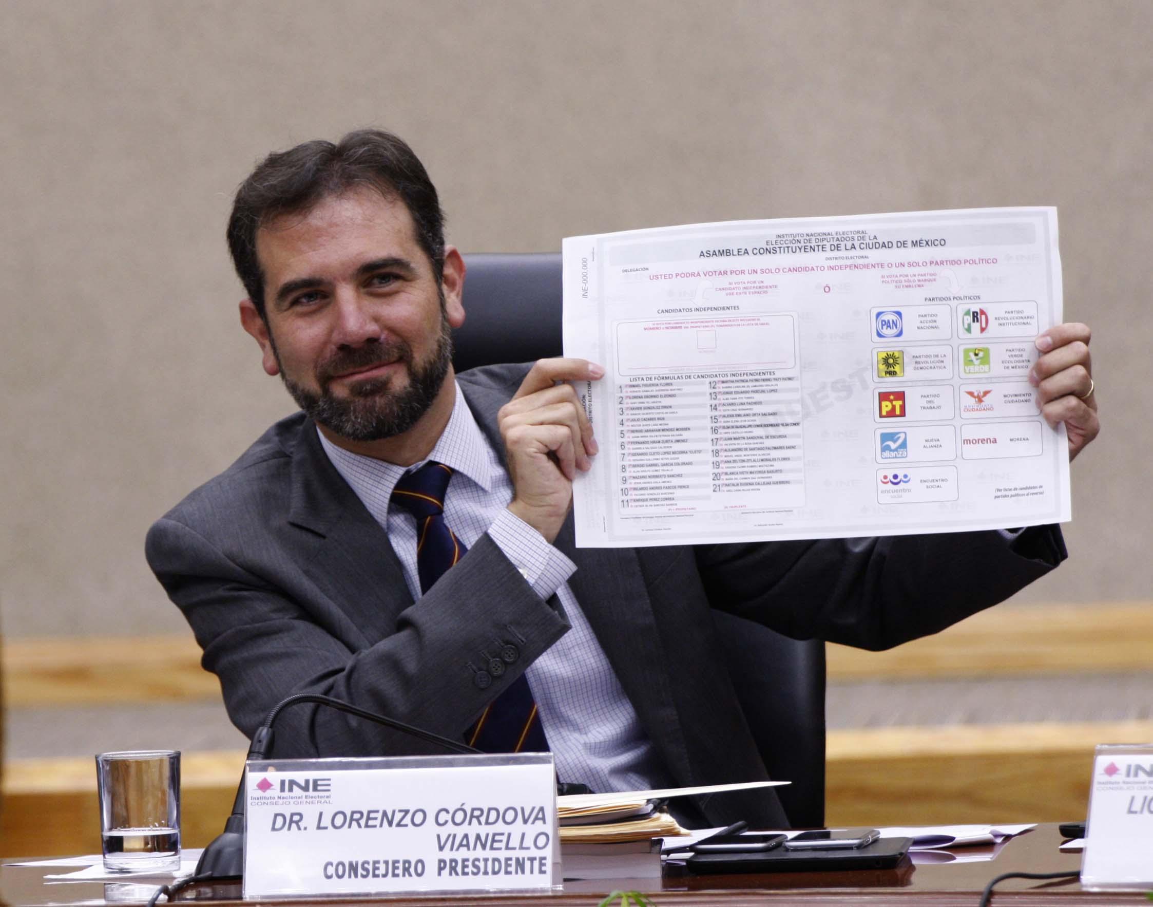 Resultado de imagen para presidentes INE